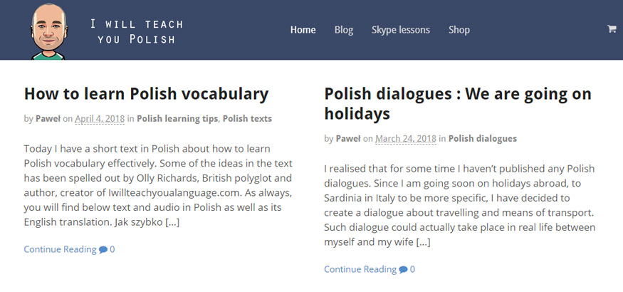 I will teach you Polish