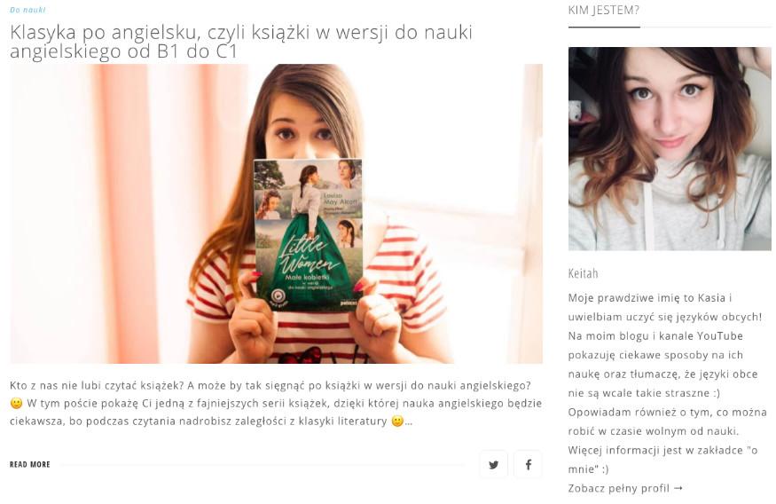 strona główna bloga keitah.pl