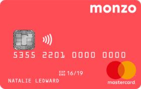 Karta bankowa Monzo